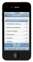 hrm mobile career site