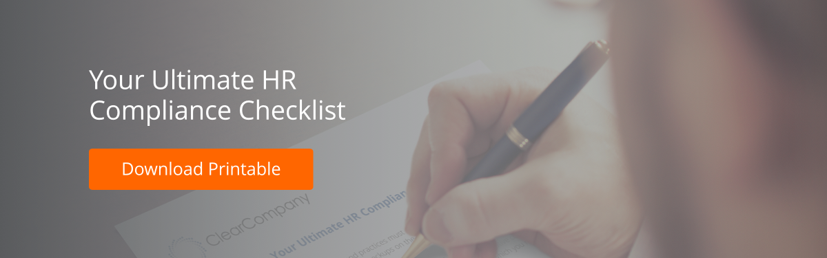 Your Ultimate HR Compliance Checklist