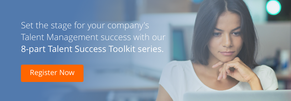 talent success toolkit series cta woman on computer